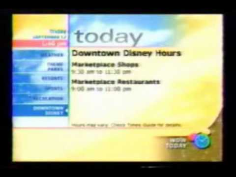 WDW Today Walt Disney World Resort TV part 2