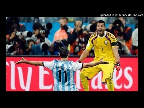 Audio tanda de penaltis/penales de Holanda-Argentina. Cadena COPE. Radio de España
