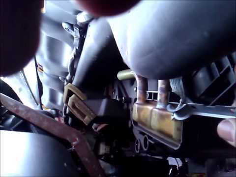 2001 Dodge Ram heater core replacement