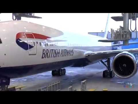 Building & Painting The Boeing 777 Simple Magic !!