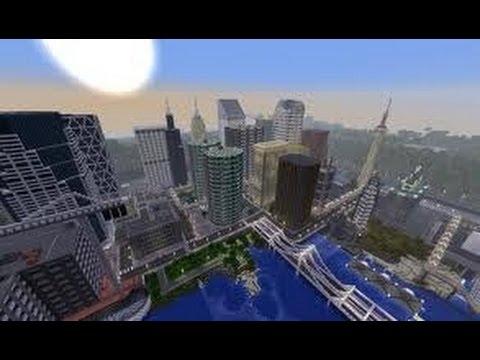 Minecraft pe Modern City