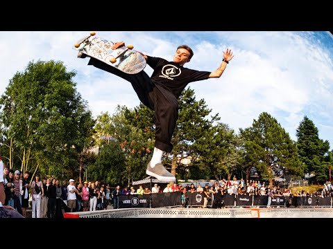 Vans Park Series Paris Quali highlights (Pedro Barros, Oskar Rozenberg, Karl Berglind)