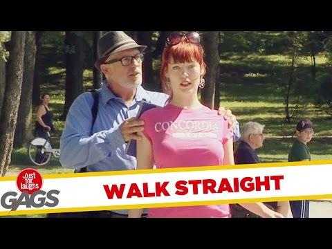 Walk Straight Prank - Húzd ki magad ha sétálsz!