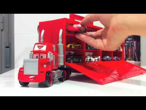 Cars 2 mack truck diecast cami n juguete miniatura mattel youtube - Cars camion mack ...