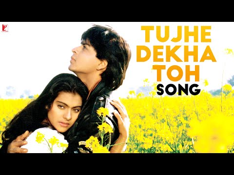 Tujhe Dekha To - Song - Dilwale Dulhania Le Jayenge - Shahrukh Khan | Kajol video