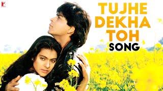 Tujhe Dekha Toh Yeh Jaana Sanam Song | Dilwale Dulhania Le Jayenge | Shah Rukh Khan | Kajol