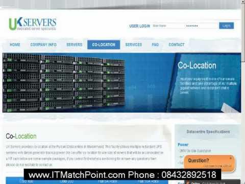Cambridge Server COLOCATION Services