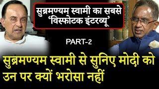 BJP Leader   Subramanian Swamy Exclusive Interview with Vijai Trivedi   Part-2