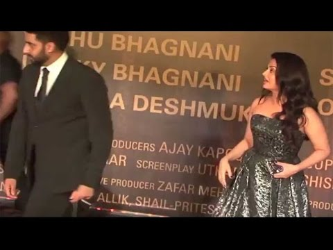 Abhishek Bachchan gets angry, insults Aishwarya during Sarbjit screening | Filmibeat