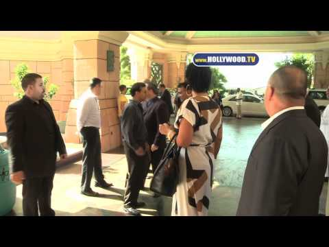 Hollywood - Kris Jenner Arrives At Atlantis The Palm in Dubai
