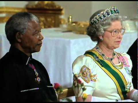 Nelson Mandela Meeting Queen Elizabeth Ii Youtube