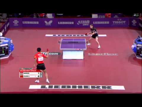 WTTC 2013 Highlights: Zhang Jike vs Robert Gardos (1/8 Final)