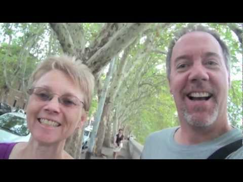Video Diary of our trip to Rome and the Holy Land - quick commentary with music.