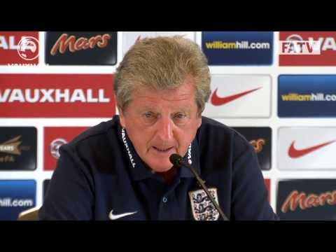 Roy Hodgson on Rooney, the England squad and more