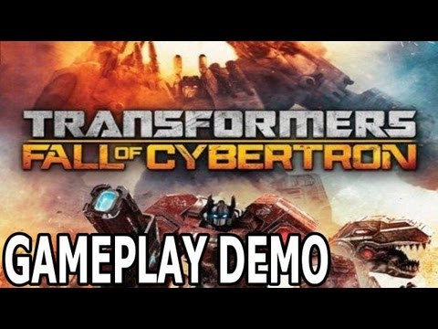 Gameplay Demo Transformers Fall Of Cybertron