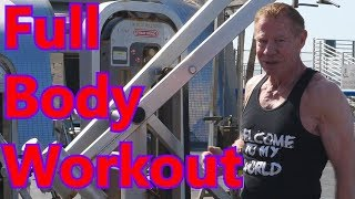 Oldest Pro Bodybuilder Recommends Full Body Workouts