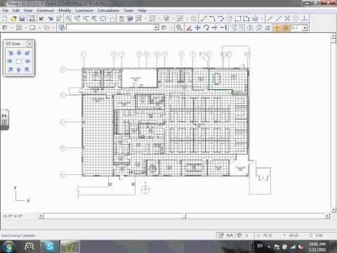 Lighting calculation (1) Visual software   01-11-11.wmv