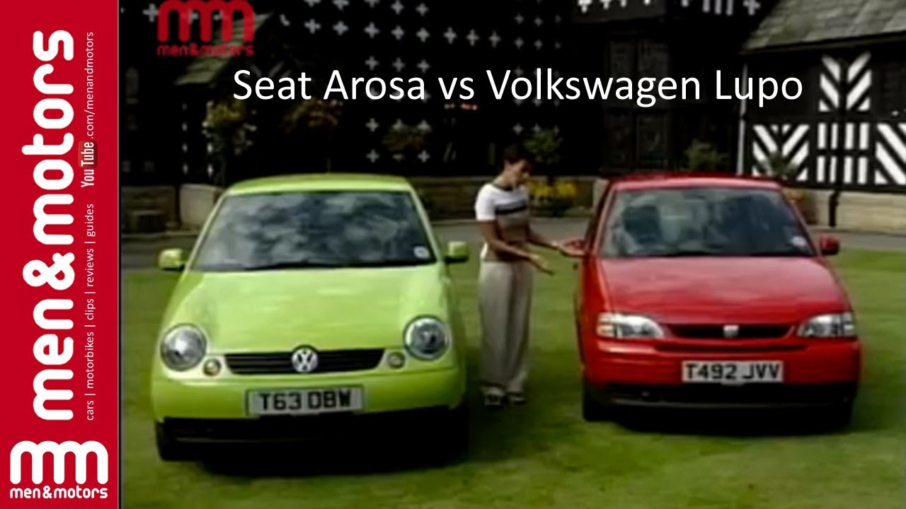 seat arosa vs volkswagen lupo youtube. Black Bedroom Furniture Sets. Home Design Ideas