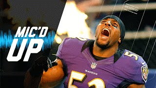 Ray Lewis Last Home Game Mic'd Up vs. Colts (2012 Wild Card Playoffs) | NFL Films |  Sound FX