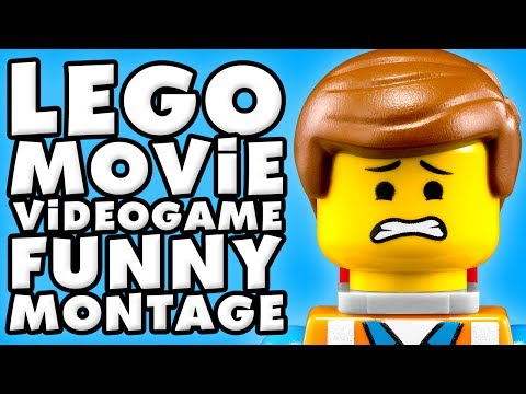 The LEGO Movie Videogame Funny Montage!