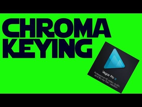 How to Use - Chroma Key (Greenscreen) in Sony Vegas Pro 12 Short Tutorial
