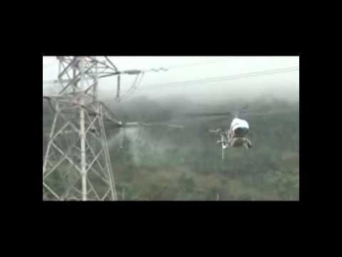 直升機清洗高壓礙子