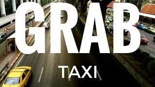 GrabTaxi an iPhone app to find a taxi in Bangkok, Thailand