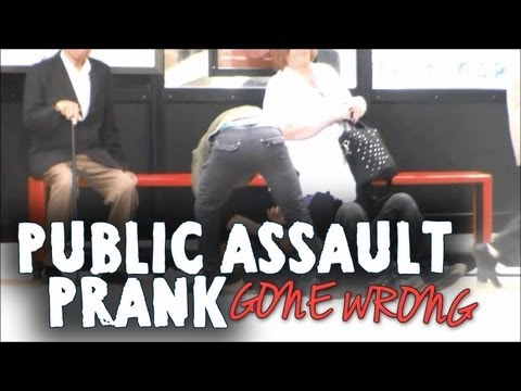Public Assault Prank [Gone Wrong & Arrested!] Public Prank