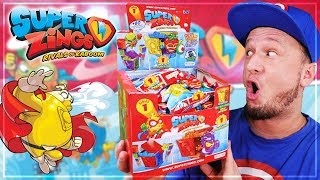 ULTRA RARE SuperZings DISPLAY Rivals of Kaboom SERIE 1 HIDEOUT Unboxing