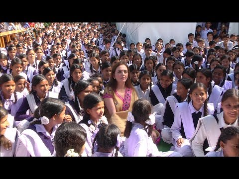 Reliance Foundation & Smt Nita M Ambani, Chairperson (Background Footage)