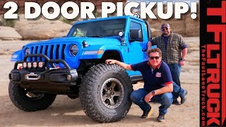 Take My Money! Is This The Ultimate 2 Door Jeep Gladiator Pickup Meant To Tease Us All?