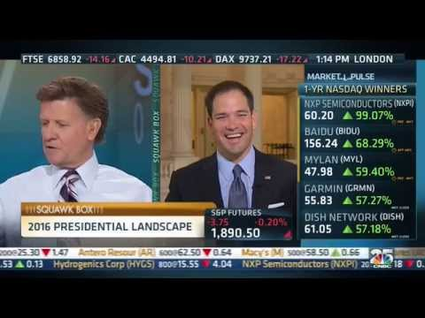 Marco on Retirement Security, Clinton, and Climate Change