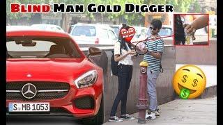 Gold Digger💰 Prank - Blind Man Gold Digger (पैसे चुरा लिए)
