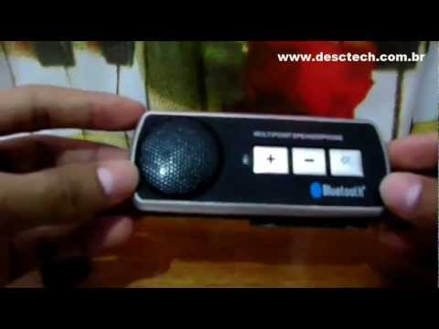 Bluetooth Car kit (Bluetooth Portátil para Carro).