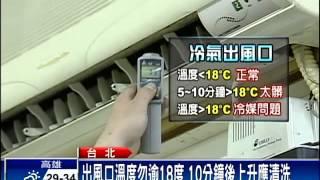 天熱冷氣不冷 DIY清洗別當冤大頭-民視新聞