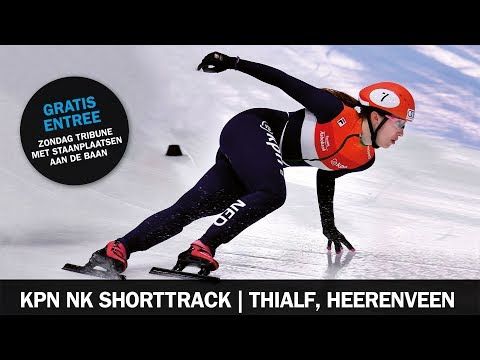 Livestream KPN NK-Senioren Shorttrack Finales 7 januari 2018