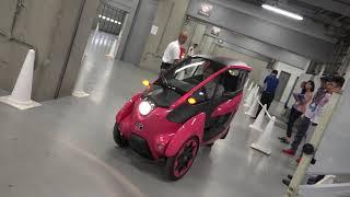 [VMS18] Những điều chưa biết về xe concept 3 bánh Toyota i-Road - Lái không giống ai   Xe.tinhte.vn