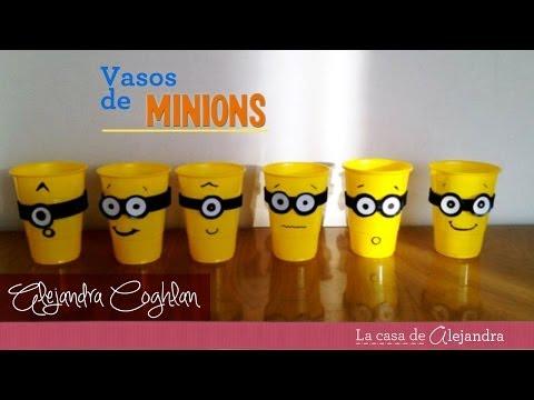 Vasos De Minions -  Diy Minions Party Cups video