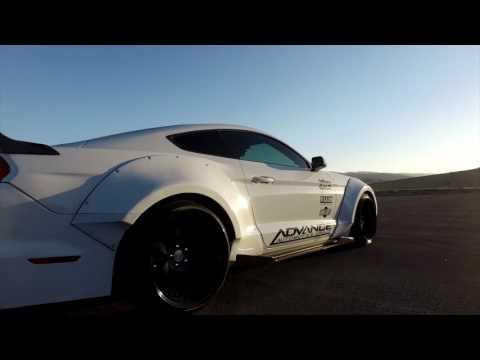2016 Widebody Turbo Mustang -Midnight Garage - Advance Automotive Group