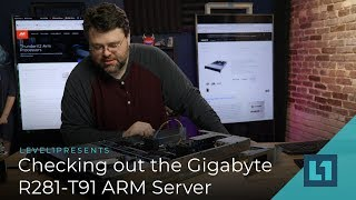 Checking out the Gigabyte R281-T91 ARM Server