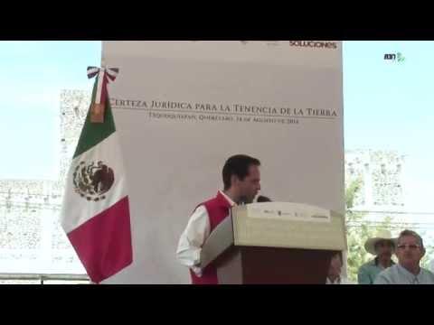 Entrega de Documentos en Tequisquiapan, Querétaro.