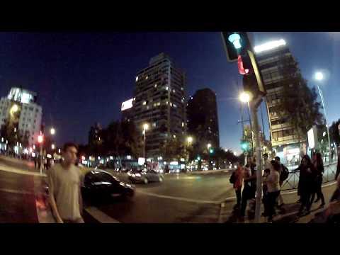 Andando por Santiago a noite | Santiago Chile | 30 day trip