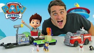 Paw Patrol Transforming Police Cruiser & Fire Truck Playsets ! || Toy Review || Konas2002