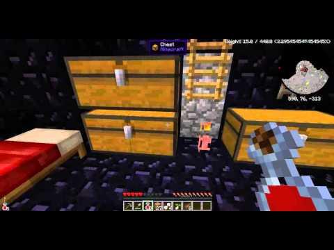 Minecraft Blood and bones modpack - episode 01 - Affamé, blessé, brulé, empoisonné et décédé