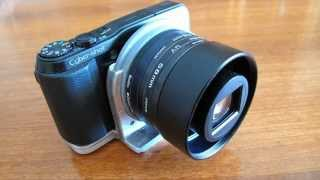 DIY SONY HX20V Lens and Filter adapter