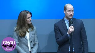Duke and Duchess of Cambridge Thank Mental Health Volunteers