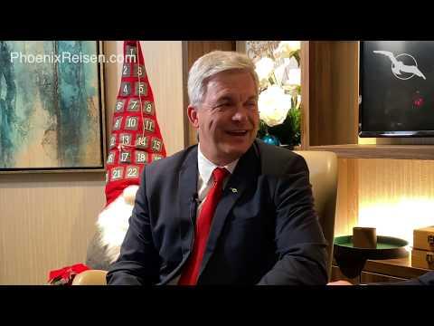 Weihnachtsgrüße 2019 mit Kreuzfahrtdirektor Michael Schulze von Phoenix Reisen und AUSBLICK 2020