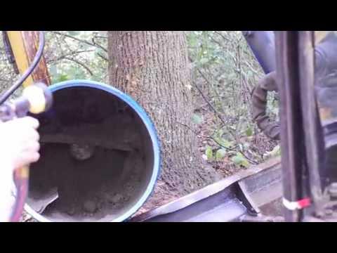 Diy Cement Mixer Home Made Cement Mixer