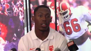 TigerNet.com - Wayne Gallman: It was like I went to sleep