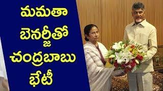 CM Chandrababu Naidu Meets Mamata Banerjee in Delhi  | hmtv